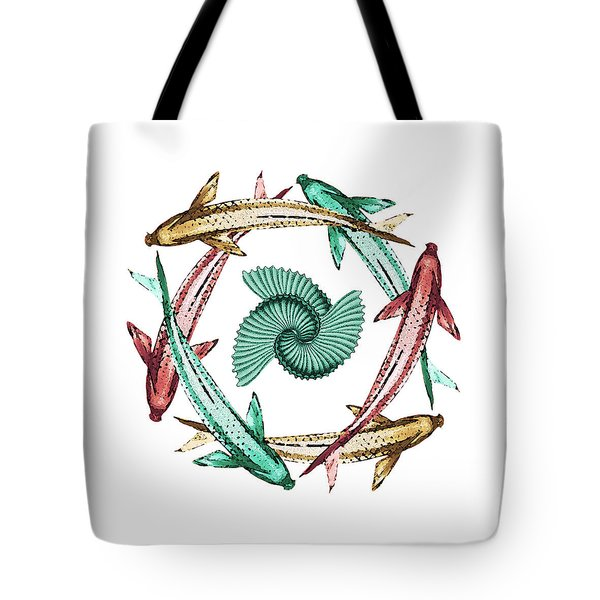 Circle Tote Bag by Deborah Smith