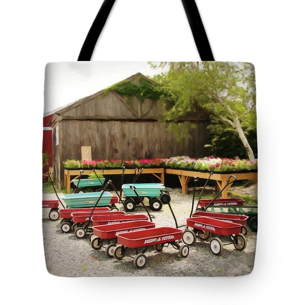 Circle The Wagons Tote Bag