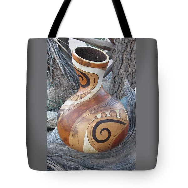 Circles And Swirls #g062 Tote Bag by Barbara Prestridge