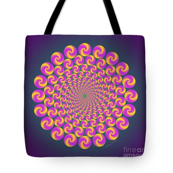 Circles Circus Tote Bag