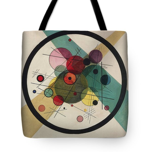 Circles In A Circle Tote Bag