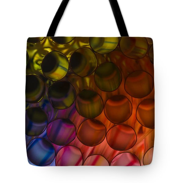 Circles In Color Tote Bag