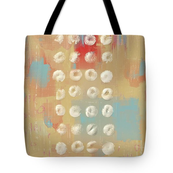 Tote Bag featuring the mixed media Circles In The Square by Eduardo Tavares