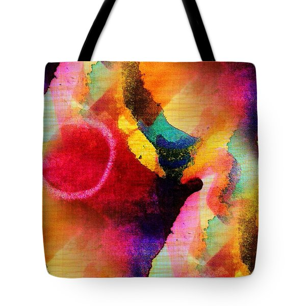 Circles Tote Bag by Mimulux patricia no No
