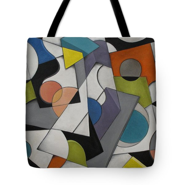 Circles Of Life Tote Bag by Trish Toro