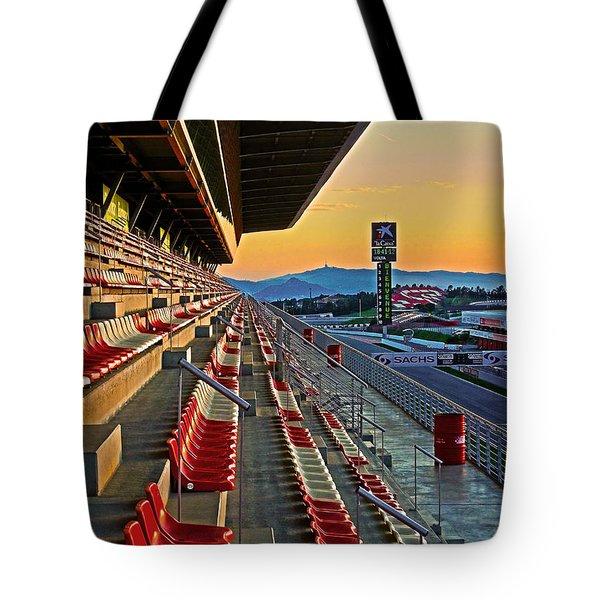 Circuit De Catalunya - Barcelona  Tote Bag