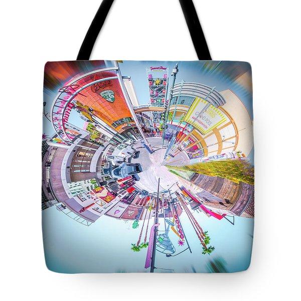 Circular Experience Tote Bag by Mark Dunton