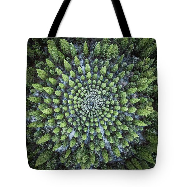Circular Symmetry Tote Bag