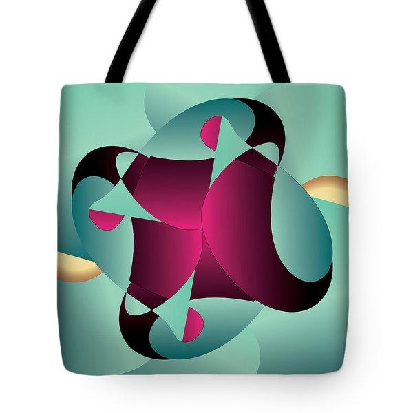 Circularium No. 2405 Tote Bag by Alan Bennington