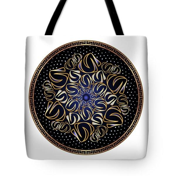 Circularium No. 2506 Tote Bag by Alan Bennington