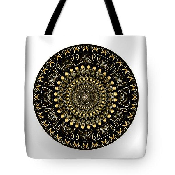 Circularium No. 2544 Tote Bag by Alan Bennington