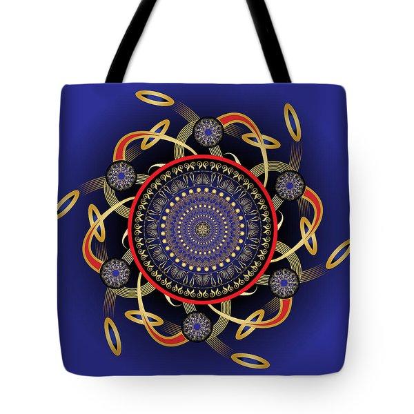 Circularium No. 2572 Tote Bag