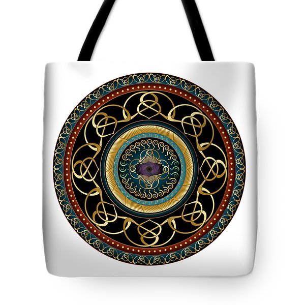 Circularium No. 2576 Tote Bag by Alan Bennington