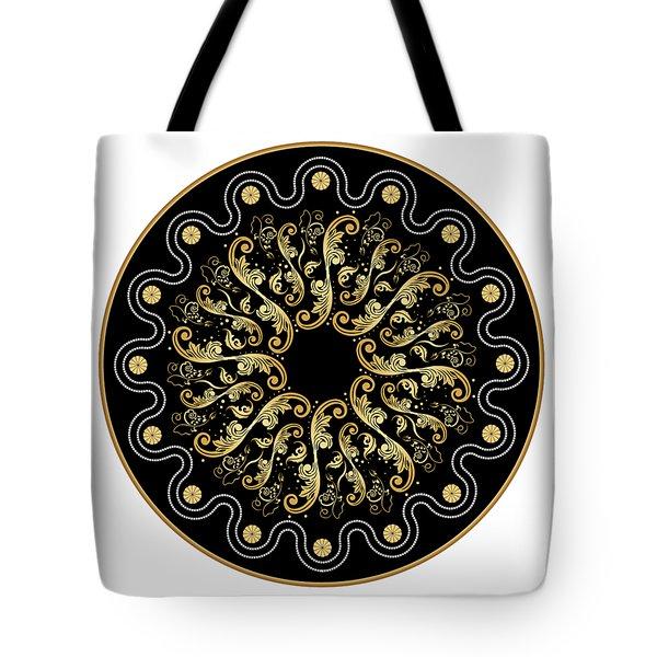 Circularium No. 2578 Tote Bag by Alan Bennington