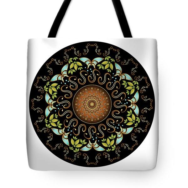 Circularium No. 2611 Tote Bag by Alan Bennington