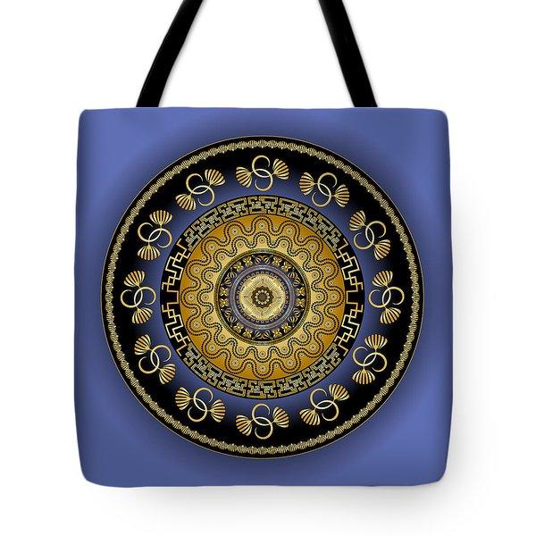 Circularium No. 2614 Tote Bag by Alan Bennington
