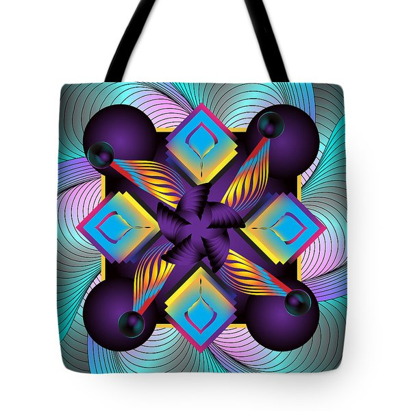 Circulosity No 3122 Tote Bag