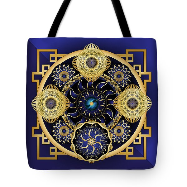 Circulosity No 3128 Tote Bag