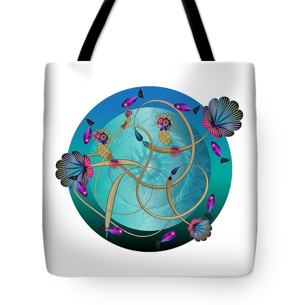 Circulosity No 3410 Tote Bag