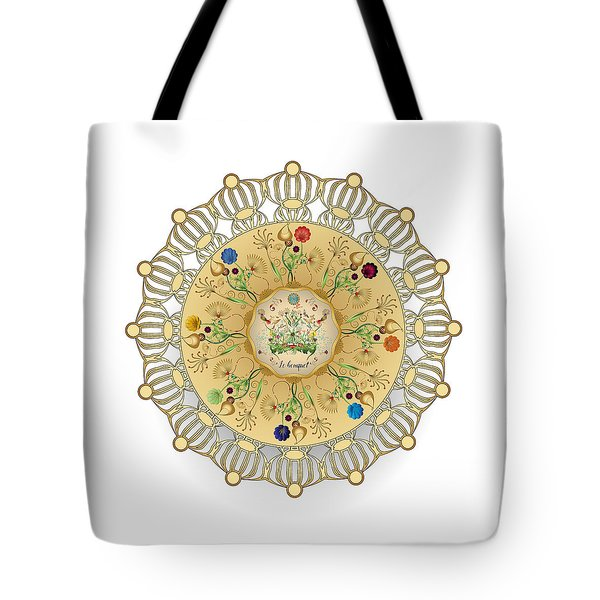 Tote Bag featuring the digital art Circulosity No 3422 by Alan Bennington