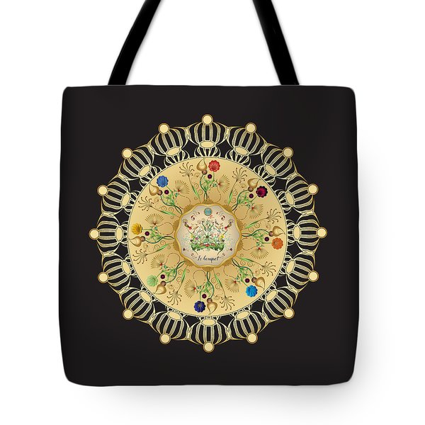 Tote Bag featuring the digital art Circulosity No 3423 by Alan Bennington