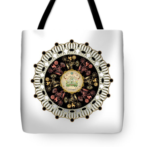 Tote Bag featuring the digital art Circulosity No 3424 by Alan Bennington