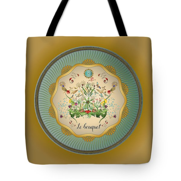 Tote Bag featuring the digital art Circulosity No 3430 by Alan Bennington