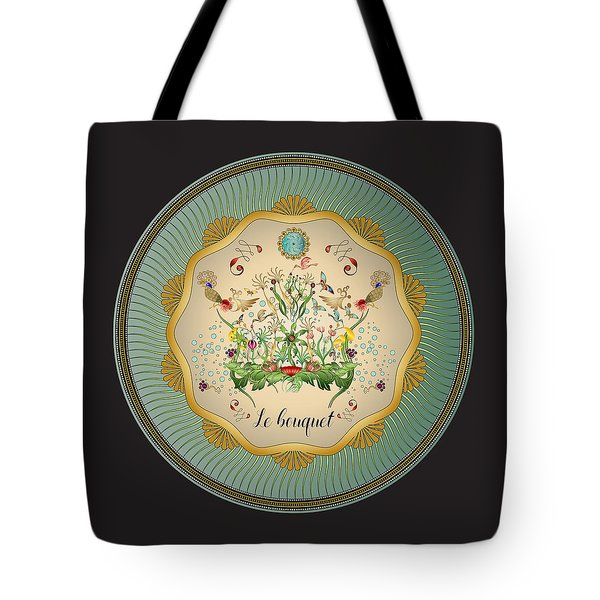 Tote Bag featuring the digital art Circulosity No 3431 by Alan Bennington
