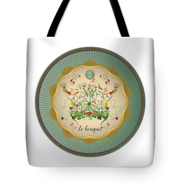 Tote Bag featuring the digital art Circulosity No 3432 by Alan Bennington