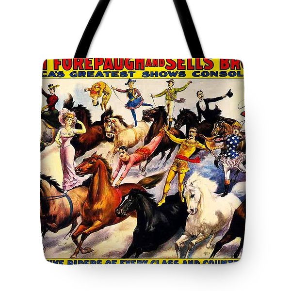 Tote Bag featuring the photograph Circus by Allen Beilschmidt