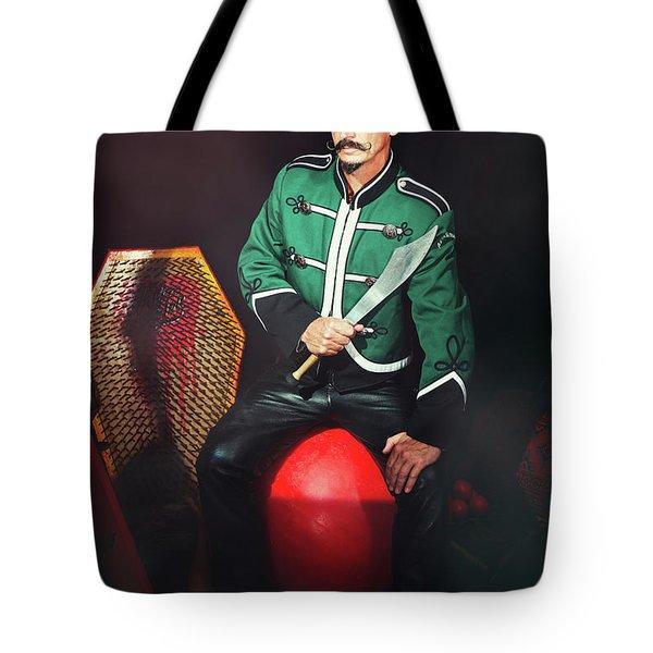 Circus Artiste Tote Bag