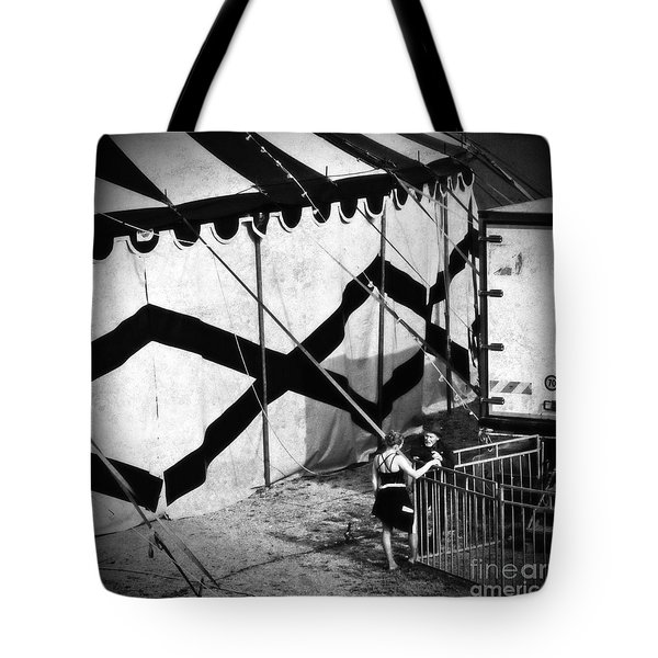 Circus Conversation Tote Bag