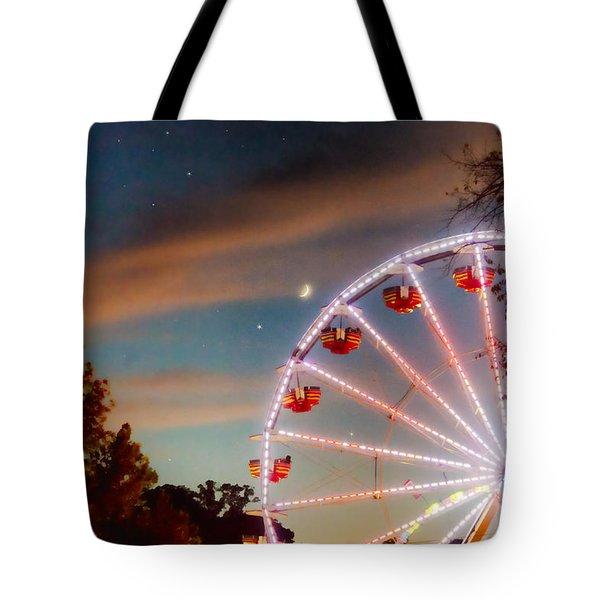 Circus Dusk Tote Bag