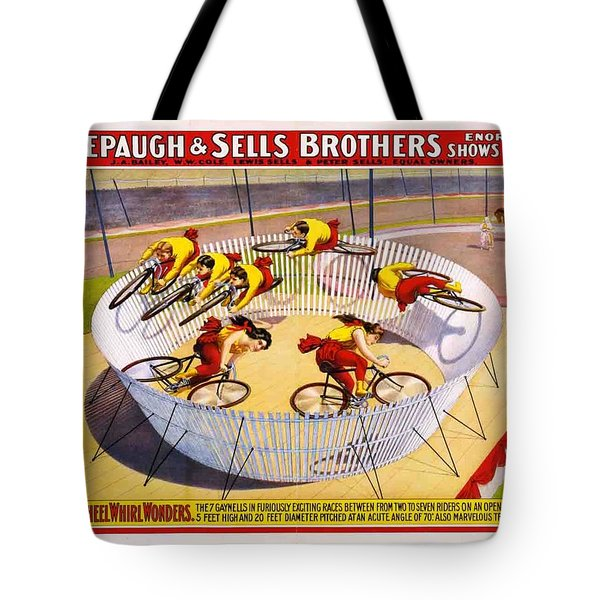 Tote Bag featuring the photograph Circus Life by Allen Beilschmidt