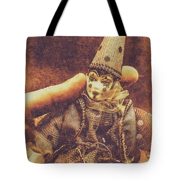Circus Puppeteer  Tote Bag