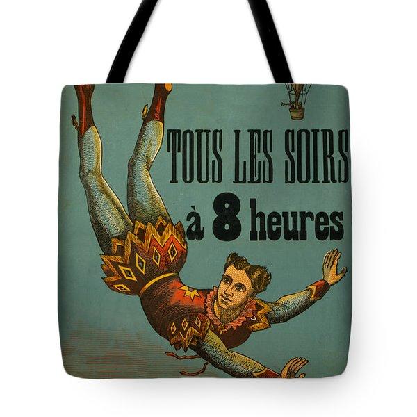 Cirque D'hiver Tote Bag