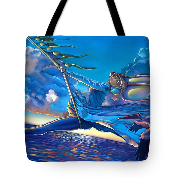 Cirque Du Sole Tote Bag by Patrick Anthony Pierson