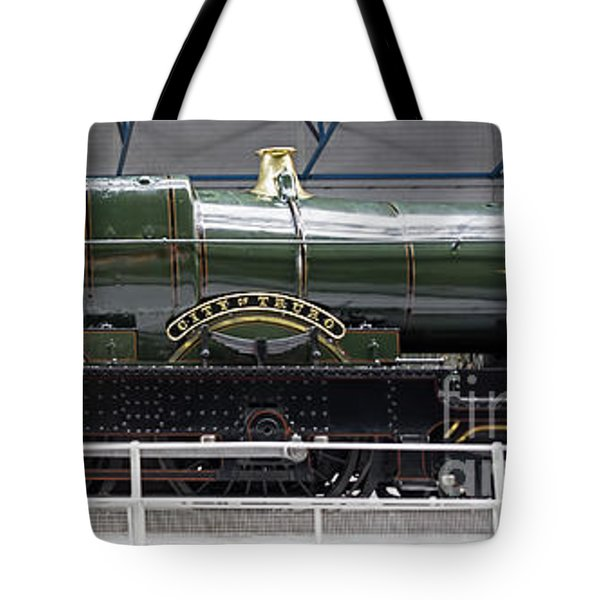 Cit Of Truro Tote Bag by David  Hollingworth