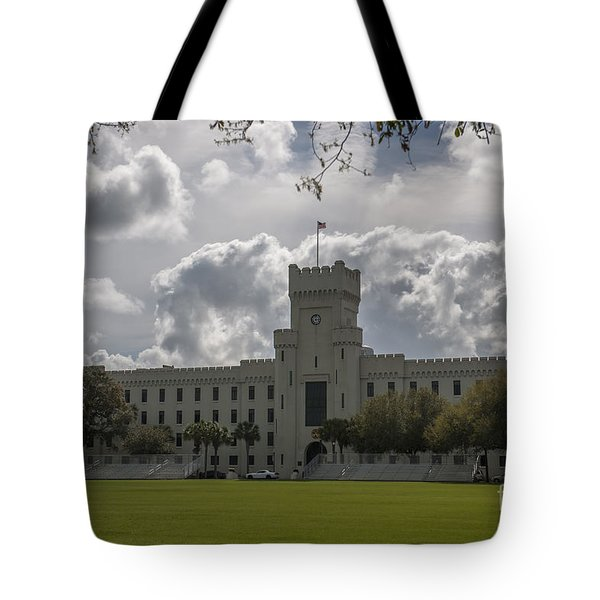 Citadel Military College Tote Bag