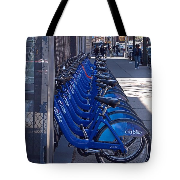 Citibike Tote Bag