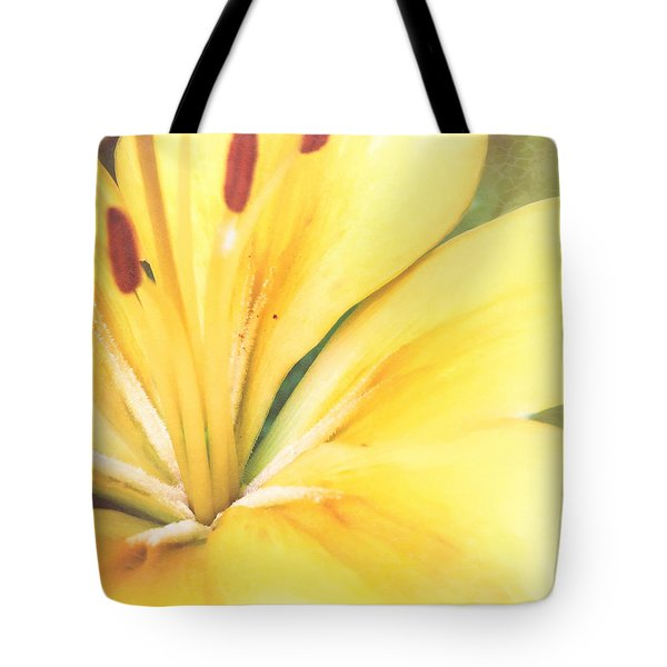Citrine Blossom Tote Bag