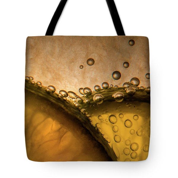 Citrus Abstract Tote Bag