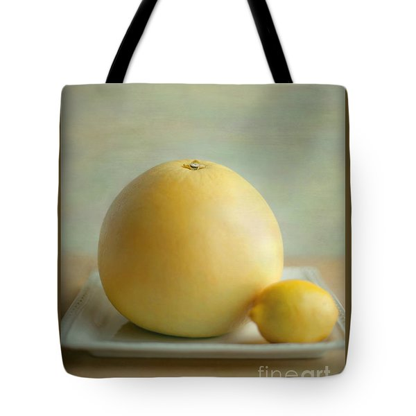 Tote Bag featuring the photograph Citrus Brothers by Aiolos Greek Collections