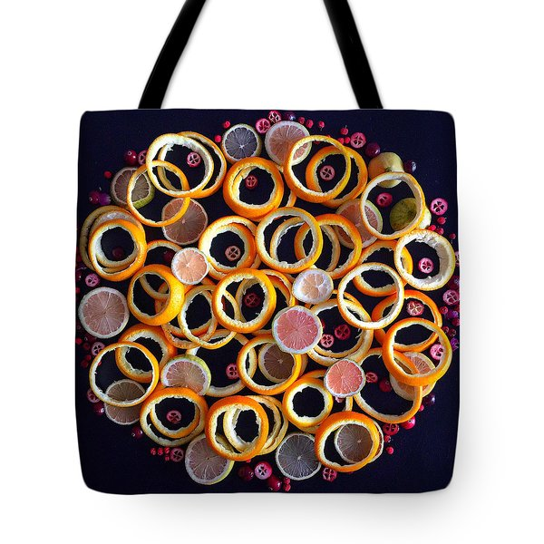 Citrus Delight Tote Bag