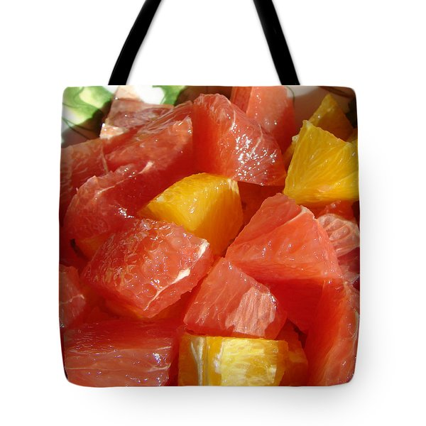 Citrus In Winter Tote Bag