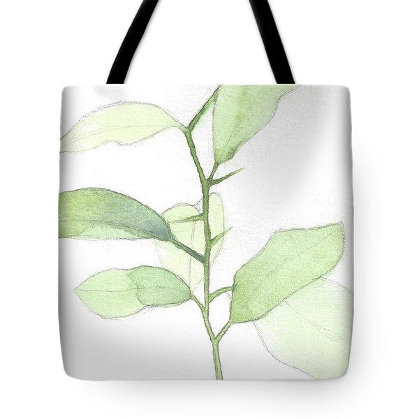 Citrus Sapling Tote Bag