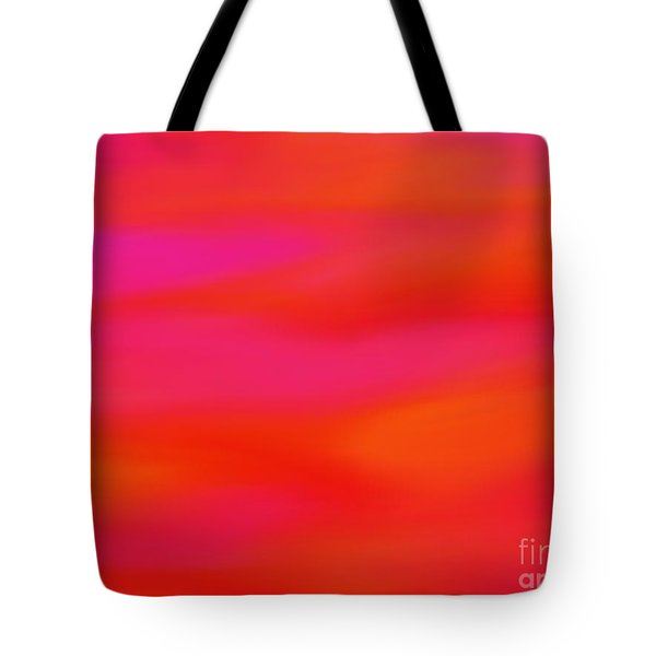 Tote Bag featuring the painting Citrus Skies by Roxy Riou