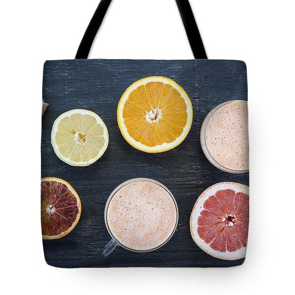 Citrus Smoothies Tote Bag