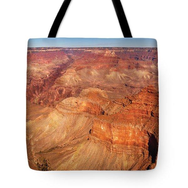 City - Arizona - Grand Canyon - The Great Grand View Tote Bag by Mike Savad