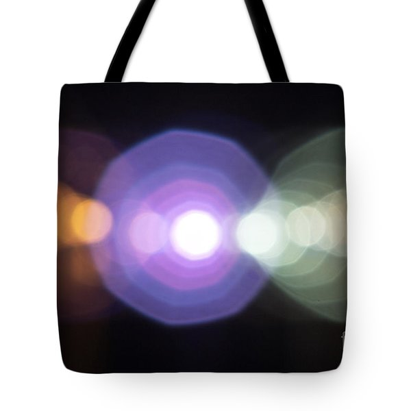 City At Night Tote Bag by Odon Czintos